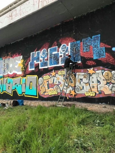 Loop Grafficon Graffiti Jam 2019 - Průběh