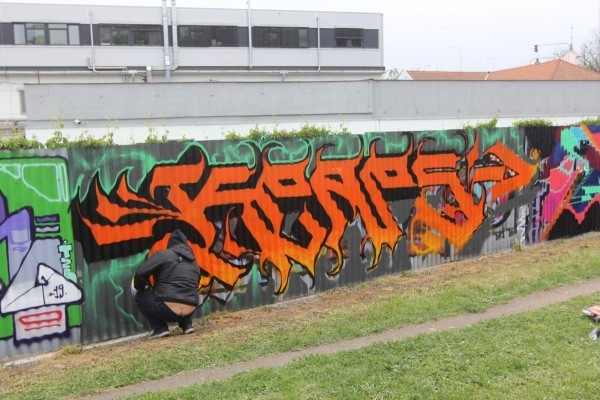 Graffshop Brno/Montana Graffiti Jam 2019 - Fotoreport