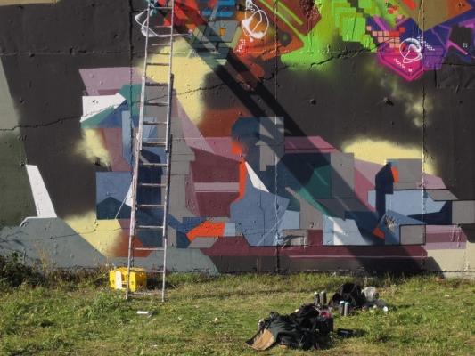 Graff Session - Spord, Zebone, Pois, Blak