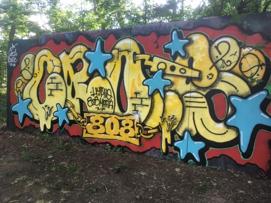 Hypno Open Air 2020 - Graffiti Exhibition Fotoreport