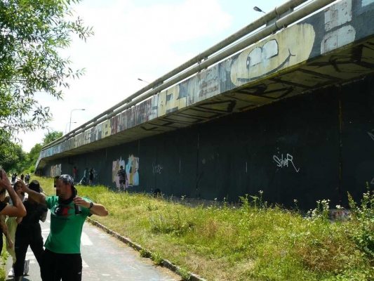 Loop Grafficon Graffiti Jam 2021 - Fotoreport z průběhu jamu