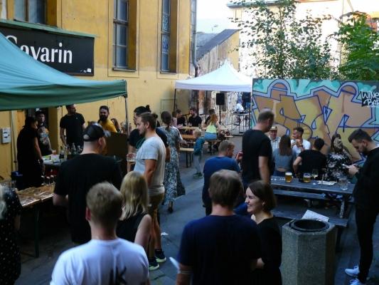 Montana Meeting - Praha Joystick Bar - Fotoreport