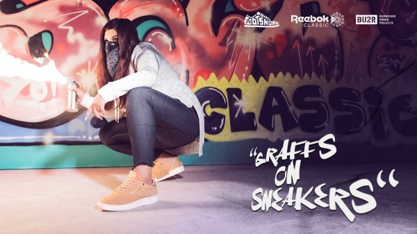 """Graffs on sneakers"" se Sany a CO."