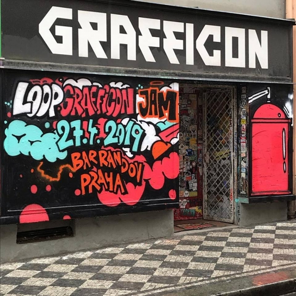 Loop Grafficon Graffiti Jam 2019!