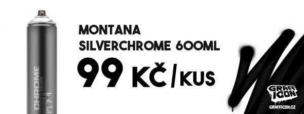 MONTANA Silverchrome 600ml AKCE
