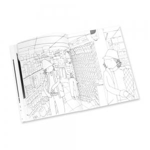 Graffiti Coloring Book 2 - Characters