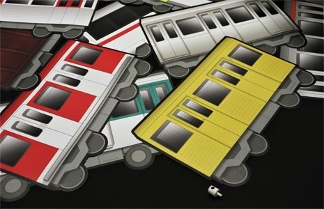 Underpressure Train set A4 - 12 Stickers