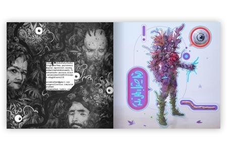 Klebstoff 11 - Stickers Book