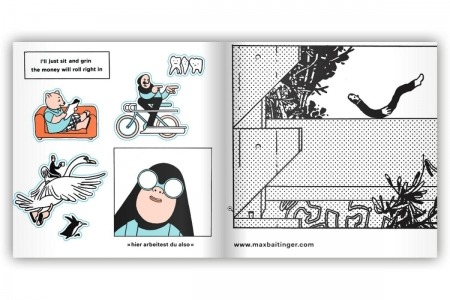 Klebstoff 12 - Stickers Book