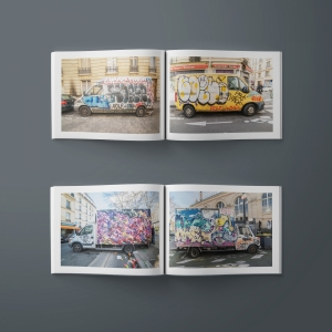 Truck Graffich - Graffiti On Parisian Trucks
