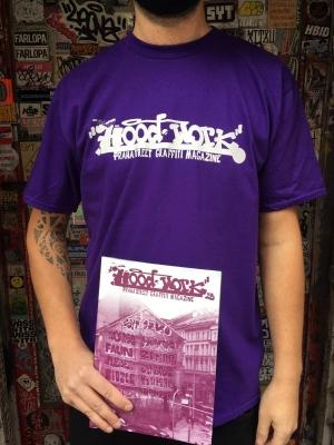 Hoodwork triko - fialové