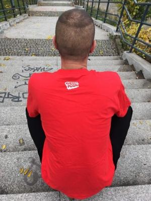Hoodwork triko - červené