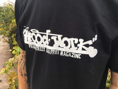 Hoodwork triko - černé