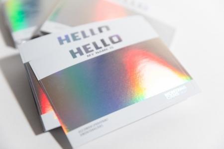 Montana Hello-Gram Stickers(Non Eggshell)
