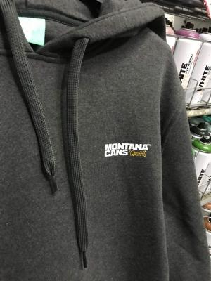 Montana Cans - Hoodie Dark Grey