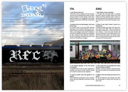 Dope Trains Magazine 3