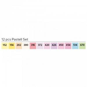 Stylefile 12er marker Pastel set
