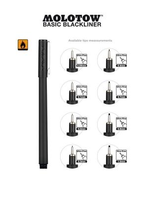 Molotow Basic Blackliner set
