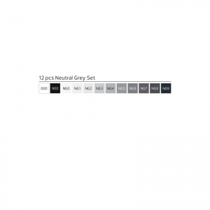 Stylefile 12er marker Neutral Grey set