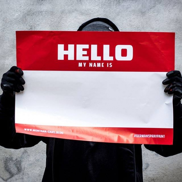 Hello My Name Is - Stickers A2