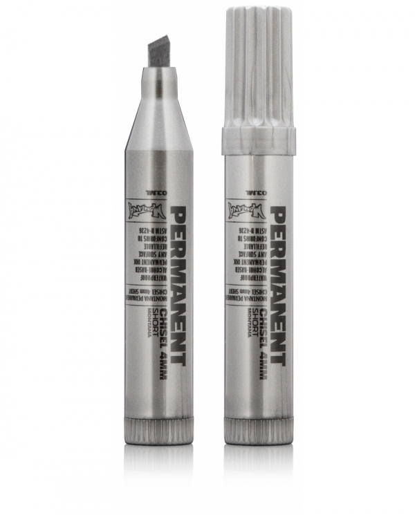 Montana  permanent marker 4mm - Silver