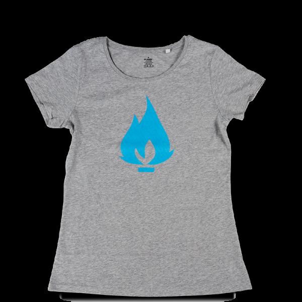 Flame triko šedé - dámské