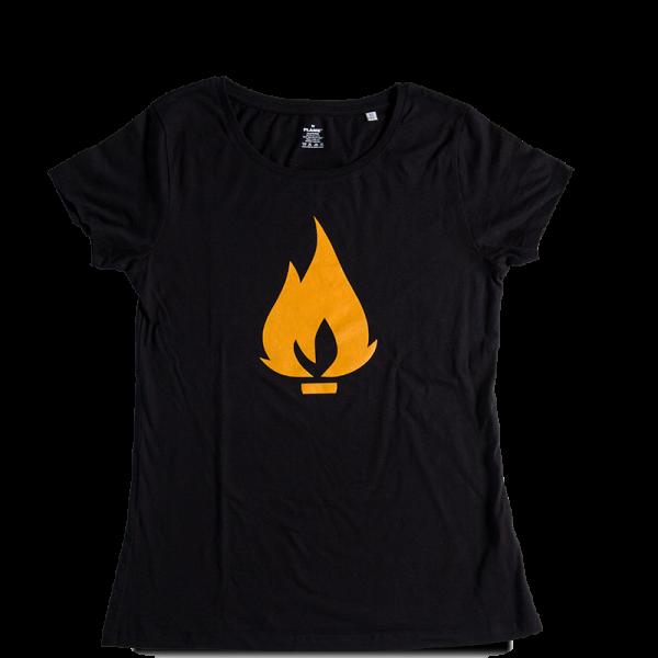 Flame triko černé - dámské