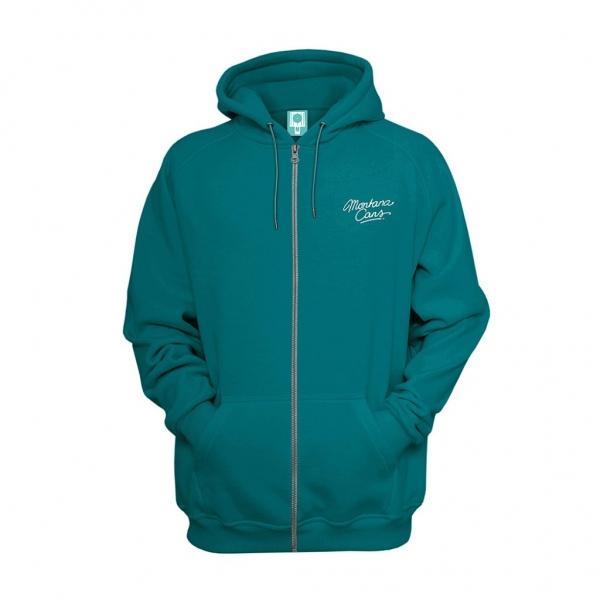 Montana zip hoodie by Mina