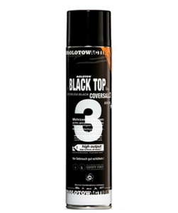 MOLOTOW CoversAll 3 black top 600ml
