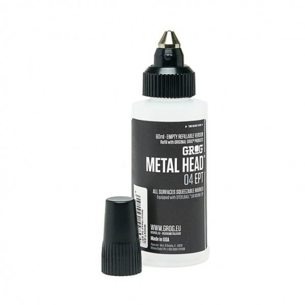 Grog Metal Head Empty