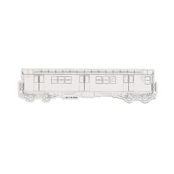 OTR Magnet New York Subway - Small (white)