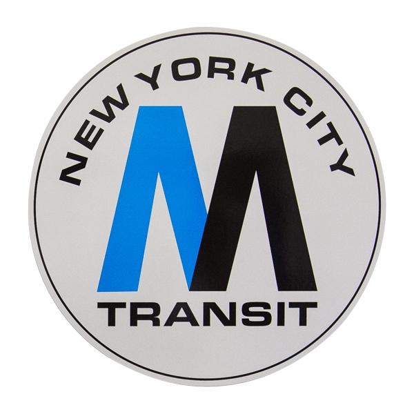 OTR Magnet NYC - MTA Logo XXL
