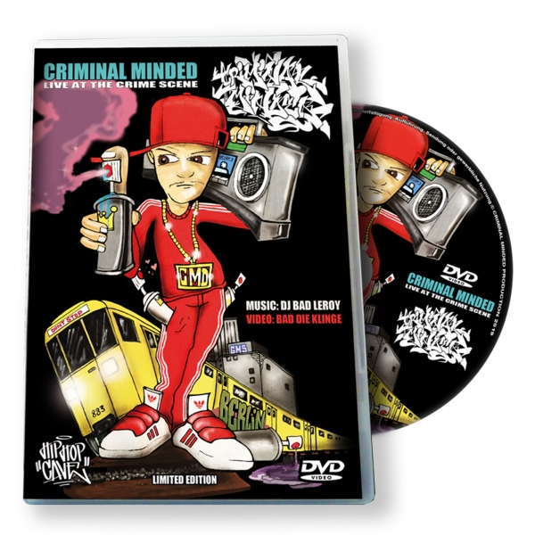 Criminal Minded DVD - Live At The Crime Scene