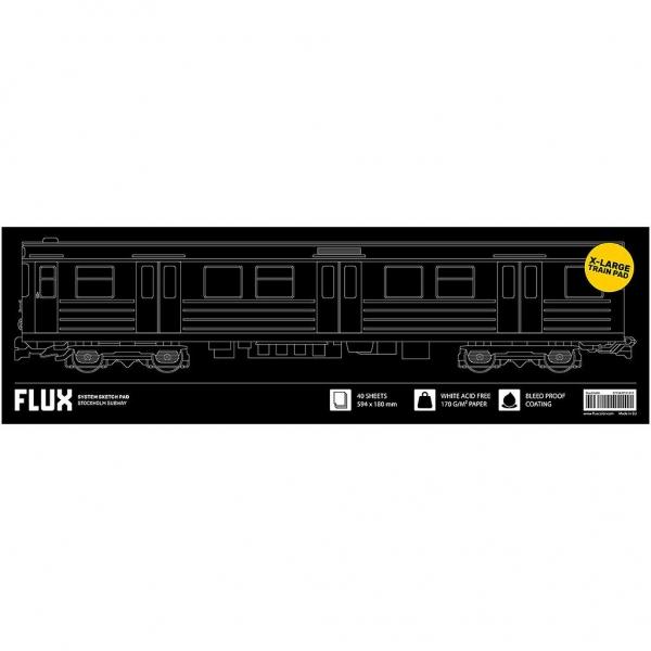 Flux System Sketchpad - Stockholm Subway