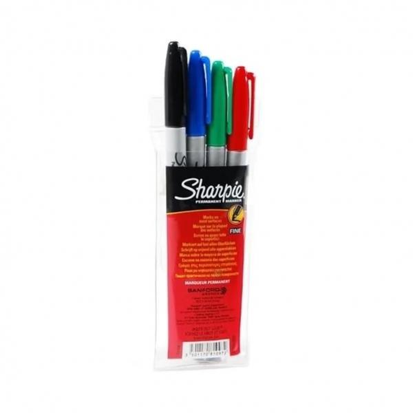 Sharpie Fine Set 1mm - 4ks