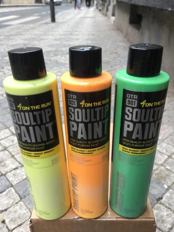 OTR.901 Soultip Paint 210ml - Neon Colors
