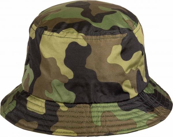 Flexfit Bucket Hat - Army Klobouk