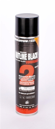 Molotow Cowersall 2 outline black-600ml