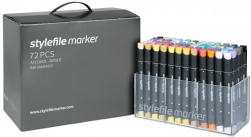 Stylefile markers 72er set/ main set A
