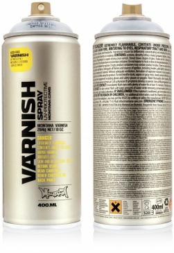 Montana Varnish Spray 400ml - bezbarvý lak