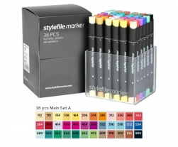 Stylefile 36er marker-main set A