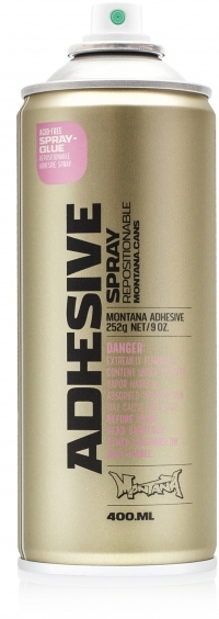 Montana ADHESIVE Spray repositionable 400ml / Spray glue