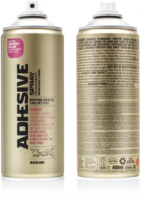 Montana ADHESIVE Spray permanent 400ml / Spray glue