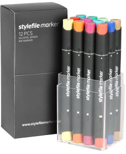 Stylefile 12er marker Main B Set