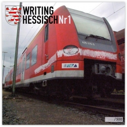 Writing Hessisch #1 Magazin