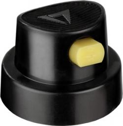 Caligraf cap - Black/Yellow