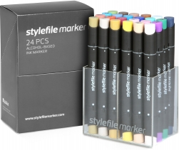 Stylefile 24er marker set B