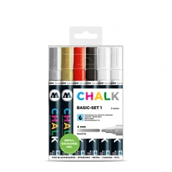 MOLOTOW™ Chalk Marker 4mm Basic Set 1
