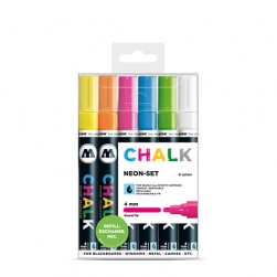 MOLOTOW™ Chalk Marker 4mm Neon Set