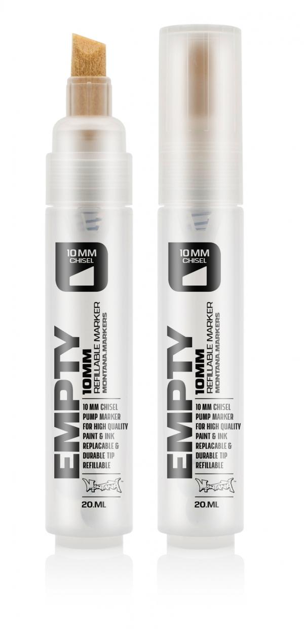 Motana Black Empty Marker 10mm Chisel